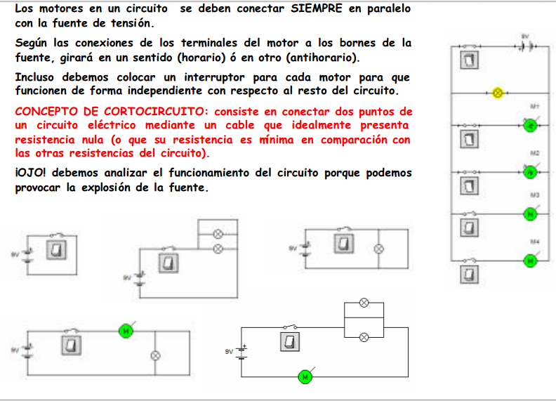 Circuito En Paralelo Ejemplos : Manuelromero cursomontaje electricidad contenido