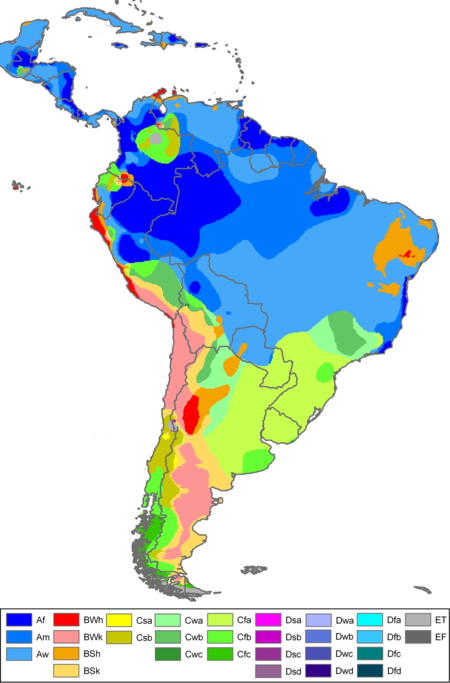 South America Köppen Map.png